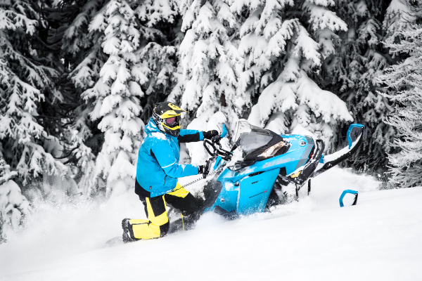 Renegade Backcountry, the Ski-Doo snowmobile for all needs