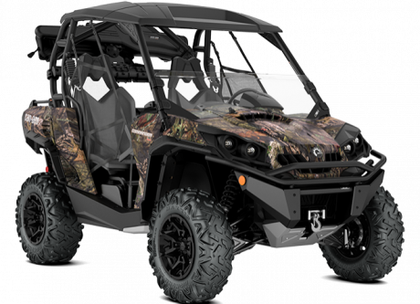 2018 Can-Am Commander Mossy Oak Hunting Edition