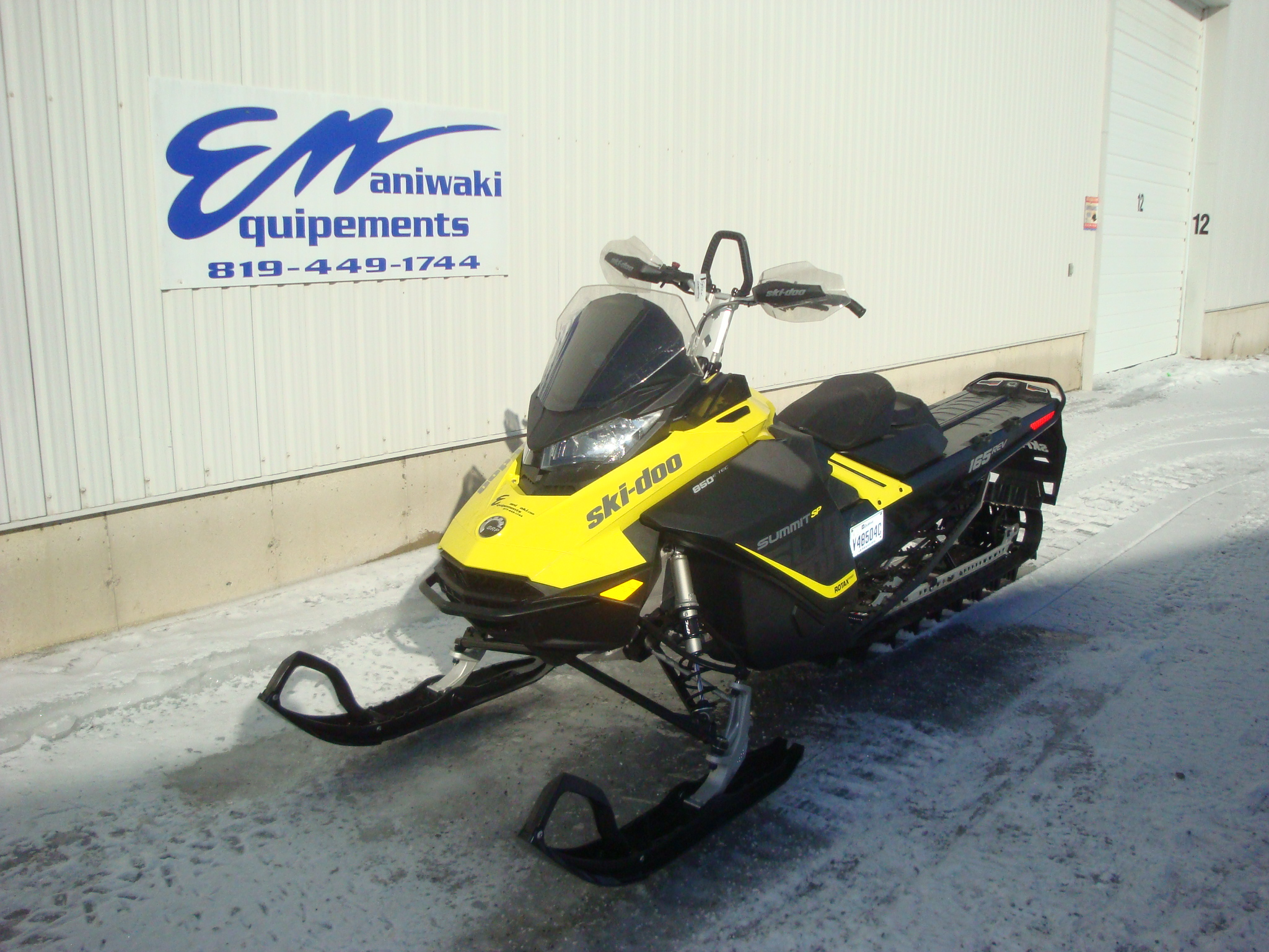 ski-doo Summit SP 165 2017