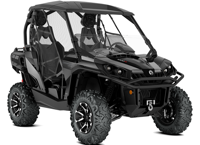 2019 Can-Am Commander Limited