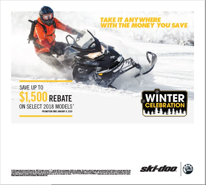Winter Celebration Ski-Doo